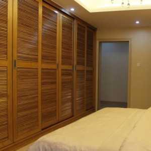 美式風格三居室白色15-20萬120平米臥室床圖片效果圖