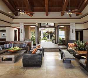 热带海岛风的客厅,把家变成度假村!(上)