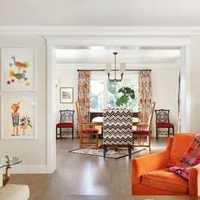 浅茶色现代简约风格公寓书房镂空墙壁隔断设计装修效果图