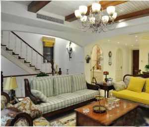 老房裝修復古客廳設計效果圖