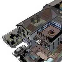 140平4房2卫平层装修要多少钱