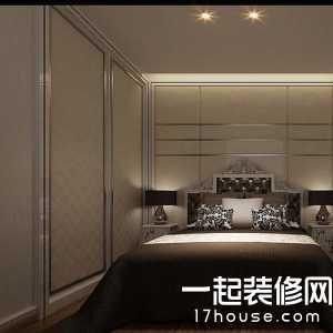 三室一厅一卫家装后现代卧室装修风格图片