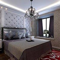 现代别墅典雅沉稳型起居室装修效果图