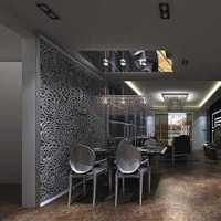 现代风格公寓卧室黑色水晶状吊灯装修效果