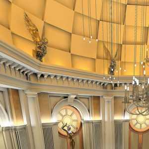 實木餐桌水晶吊燈家具家具餐桌餐椅吊頂餐桌餐椅餐廳吊頂歐式風格餐廳家具圖片效果圖欣賞