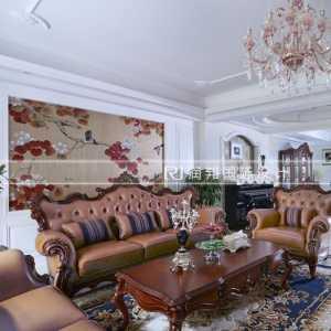 龙湖滟澜山下叠别墅美式风格