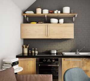 34个时尚黑色厨房设计