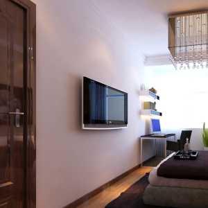 后現代風格三居臥室黑白色裝修設計
