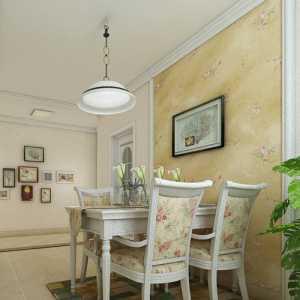 五月花城三室兩廳美式風格綠色家園效果圖