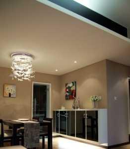 交换空间效果图,餐厅吊顶背景墙装修效果图
