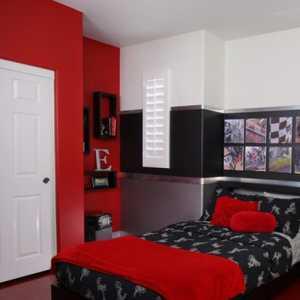 背景墻現代簡約現代簡約風格二居室臥室背景墻裝修效果圖