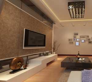 暖色调大气精装客厅