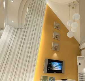 現代時尚三居室客廳裝修圖片