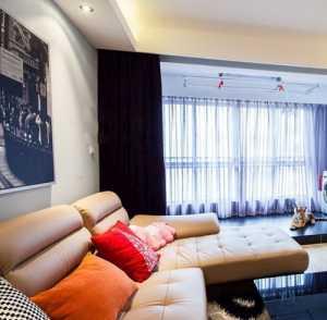 吊頂電視背景墻美式風格別墅客廳裝修效果圖