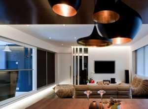 客厅140平米混搭沙发装修效果图