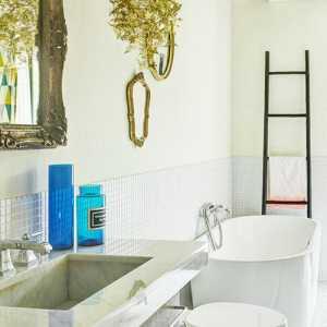时尚现代简约公寓卫生间多彩