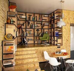65平米小戶型客廳沙發背景墻2016裝修效果圖
