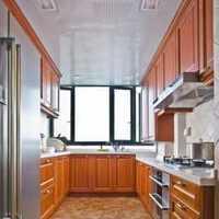 2米长乚形厨房装修效果图