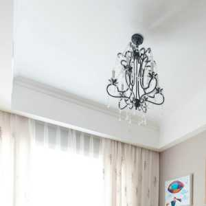 筒燈溫哥華南苑四居室126.98㎡裝修圖片效果圖