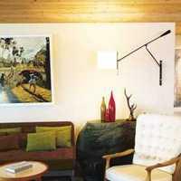 時尚創意風格復式客廳裝修展示圖