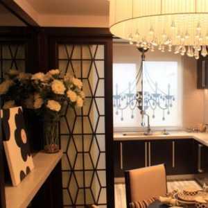 80平米二居室85平歐式風格兩居室裝修效果圖