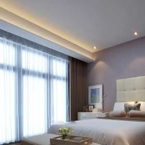 北歐風格公寓裝修設計臥室門圖片