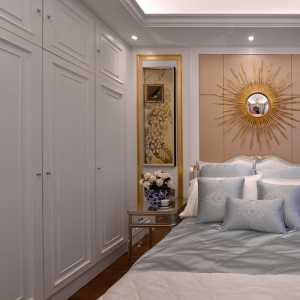 臥室溫馨灰色地毯裝修效果圖