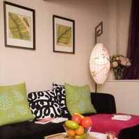 现代厨房公寓白色地面设计装修效果图