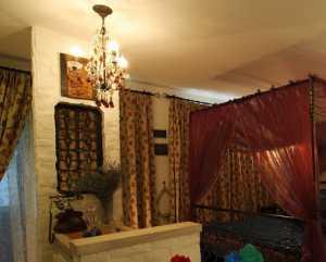 現代風格一居客廳過道裝修效果圖