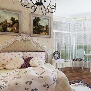 老房改造臥室床頭背景墻設計裝修效果圖