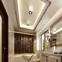 歐式風格復式公寓家庭女士白色衣帽間格局設計