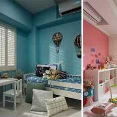 歐式古典風格三居臥室飄窗裝修裝飾