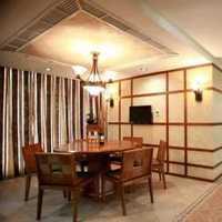 现代别墅通透式起居室装修效果图