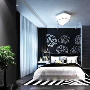 双人床落地灯装饰画卧室简约卧室背景墙卧室家具小型次卧浅绿色背景墙装修图片效果图大全