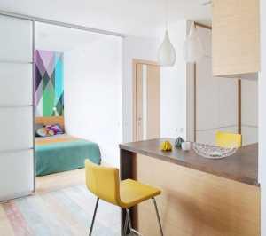 95平米客厅餐厅两居室一书房一卫厨房设计在凉台应该如何
