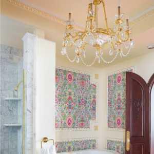 床頭燈床頭背景墻一室一廳家具床頭柜窗簾床頭柜臥室窗簾55㎡一室一廳新古典風格臥室背景墻裝修效果圖新古典風格化妝凳圖片