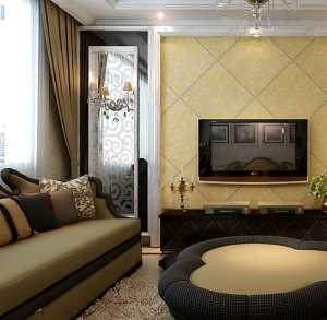 豪华欧式客厅装修效果哪种好要注意哪些问题的呢