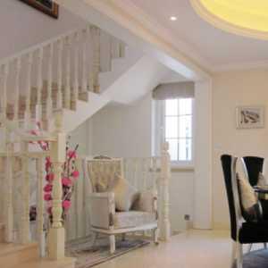 電視背景墻吊頂窗簾美式風格臥室裝修效果圖