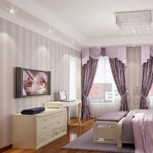 富裕型混搭風格別墅15-20萬臥室床效果圖