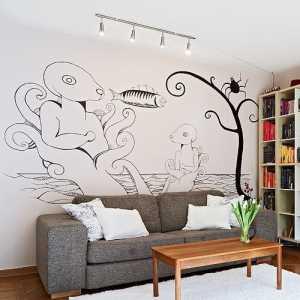 90平米单身公寓设计图