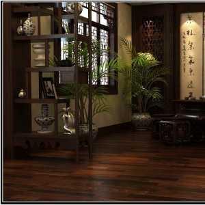 造型優美的客廳半隔斷設計裝修效果圖